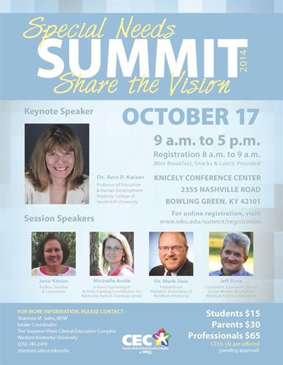 special needs summit